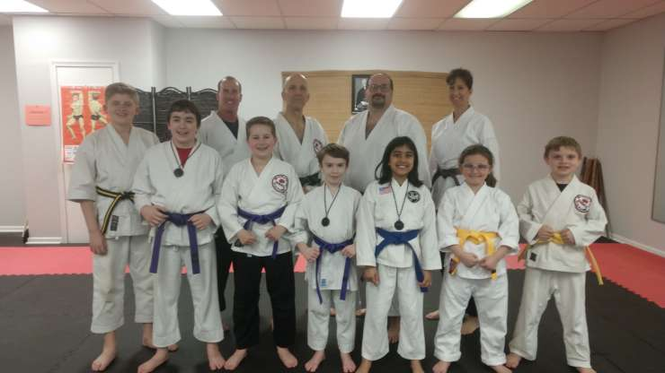 March 23 belt exam!