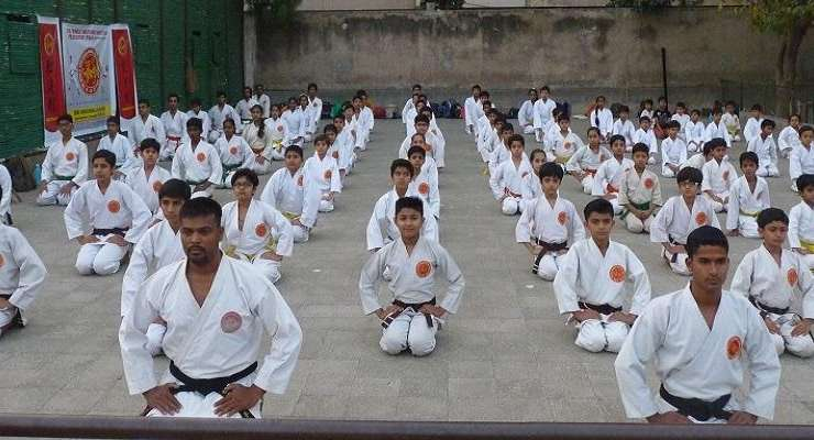 Shuto Karate Goes To India